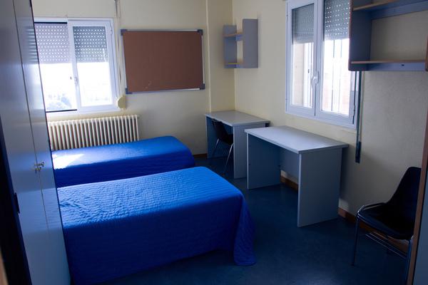 Instalaciones Residencia de Estudiantes Ramon Pignatelli Dormitorio